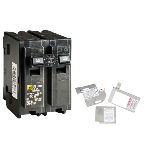 small resolution of square d homeline 30 amp 2 pole circuit breaker bundle with 150 225 amp