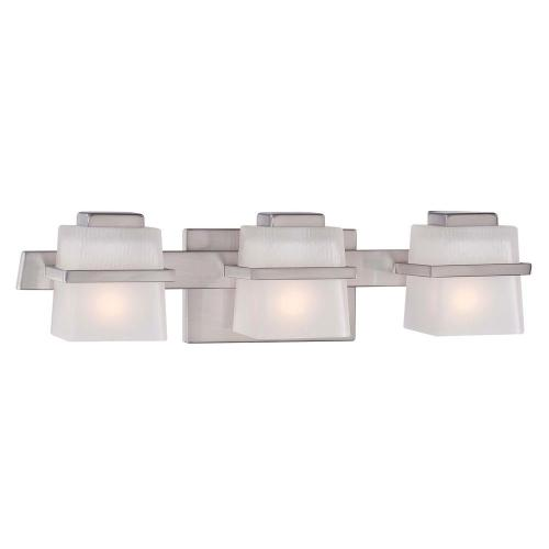 small resolution of hampton bay harlin hills 3 light brushed nickel vanity light with etched glass shades