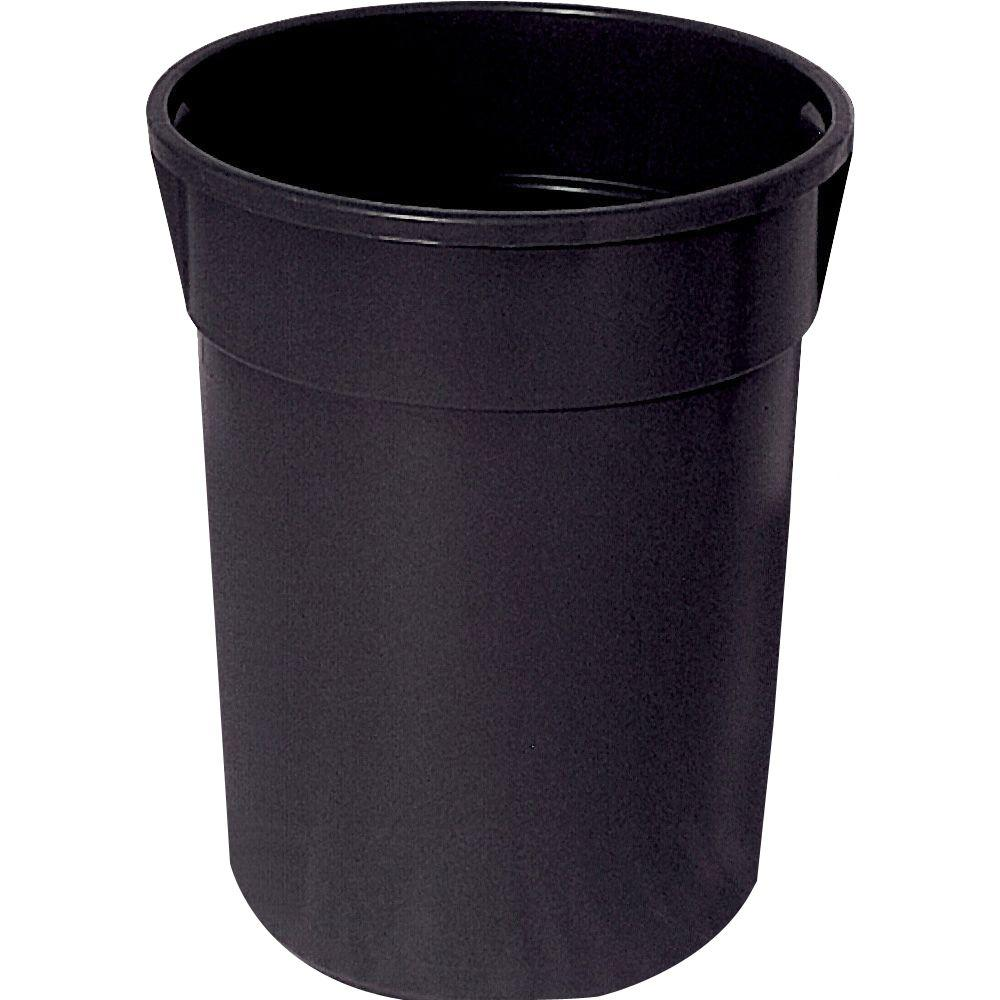 home depot kitchen trash cans needs ultra play 32 gal. commercial park can receptacle ...
