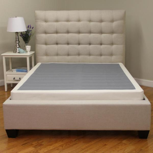 Instant Foundation Queen-size 4 In. Profile Mattress Foundation-123001