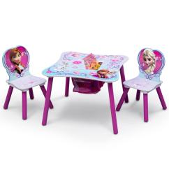 Where To Buy Toddler Table And Chairs Revolving Chair Spare Parts Online Kids Tables Playroom The Home Depot Disney Frozen 3 Piece Multi Color Set With Storage