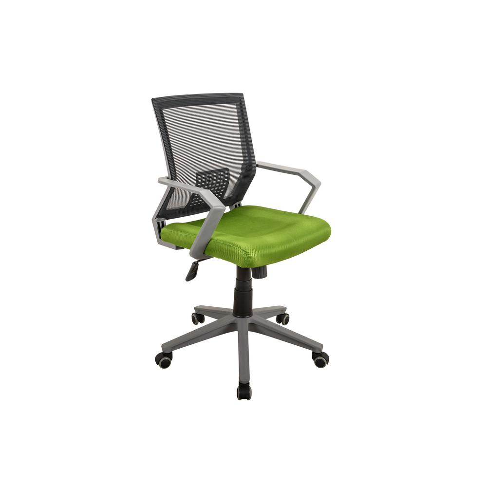 durable office chairs black chaise lounge chair techni mobili green rolling height adjustable mesh task