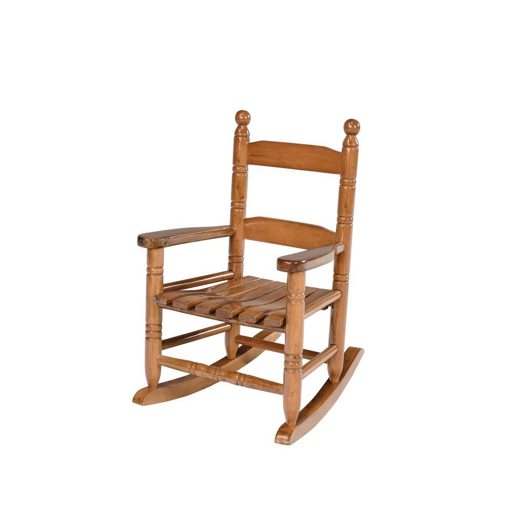 Child Wooden Rocking Chair Natural Wooden Child Rocking Patio Chair