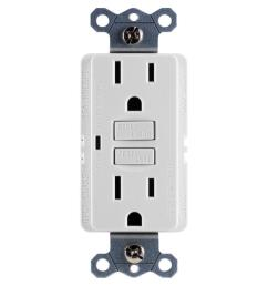 ge 15 amp self test gfci outlet white [ 1000 x 1000 Pixel ]