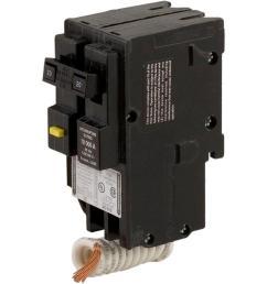 square d homeline 20 amp 2 pole gfci circuit breaker hom220gfic the home depot [ 1000 x 1000 Pixel ]