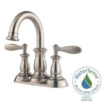 Pfister Langston 4 in. Centerset 2-Handle Bathroom Faucet ...