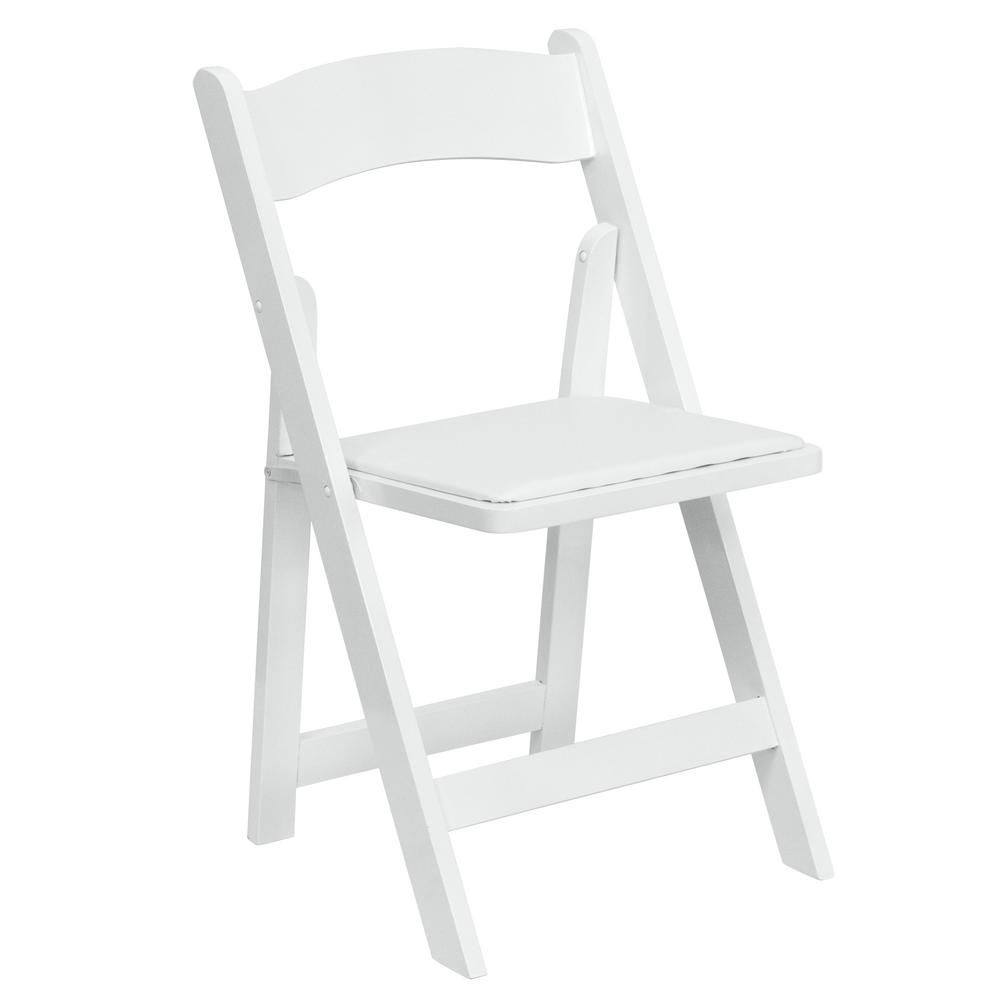 white folding chair galvanized steel chairs kitchen flash furniture hercules series wood with vinyl padded seat xf2901white the home depot