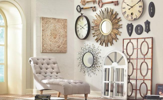 Home Decorators Collection Amaryllis Metal Wall Decor In