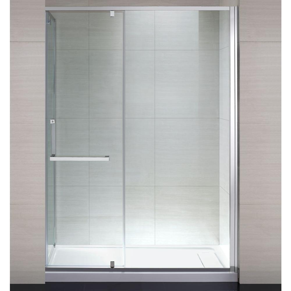 Schon Brooklyn 60 in x 79 in SemiFramed Shower