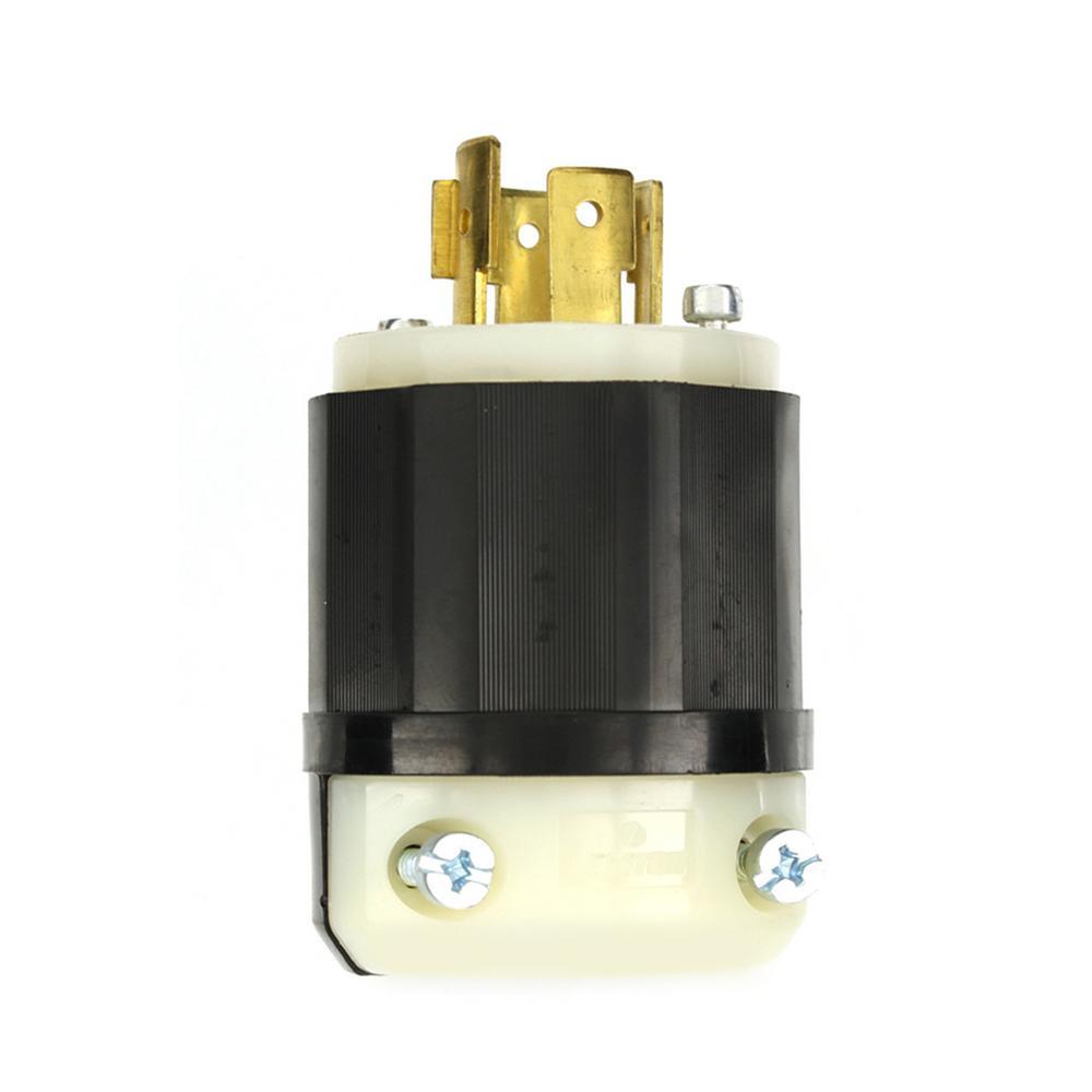 medium resolution of leviton 20 amp 120 208 volt 3 phase locking non grounding plug