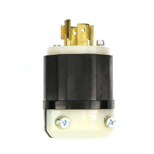 small resolution of leviton 20 amp 120 208 volt 3 phase locking non grounding plug