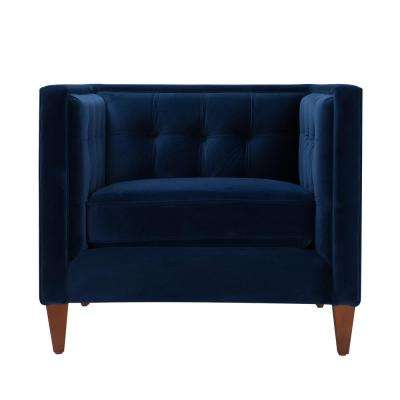 navy blue accent chairs nursery rocking chair the home depot jack tuxedo