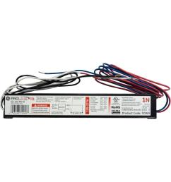 ge 120 to 277 volt electronic ballast for 4 ft 1 lamp t8 [ 1000 x 1000 Pixel ]