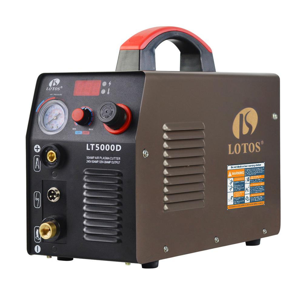 hight resolution of lotos 50 amp compact inverter plasma cutter for metal dual voltage 110 220v