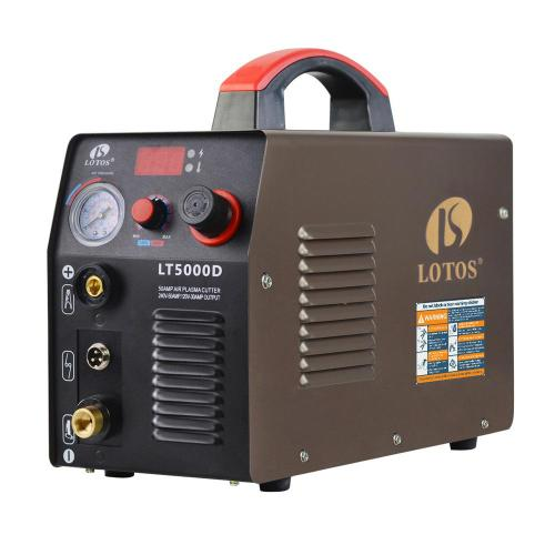small resolution of lotos 50 amp compact inverter plasma cutter for metal dual voltage 110 220v