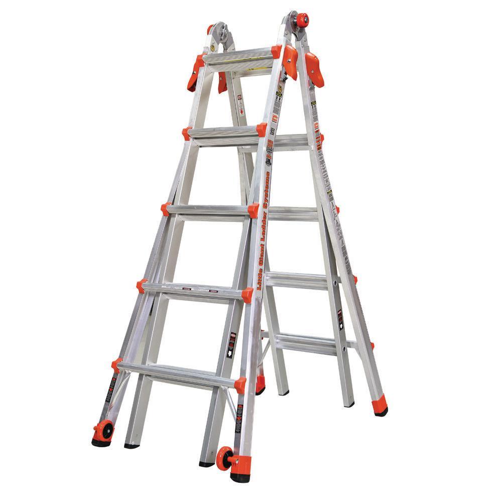 Little Giant Ladder Systems LT 22 ft. Aluminum Multi