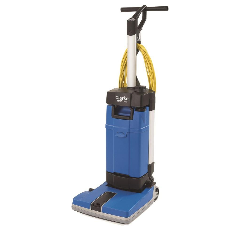 Clarke MA10 12E Upright Floor Scrubber with OffAisle and