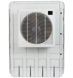 mastercool 3200 cfm slim profile window evaporative cooler for 1600 sq ft  [ 1000 x 1000 Pixel ]