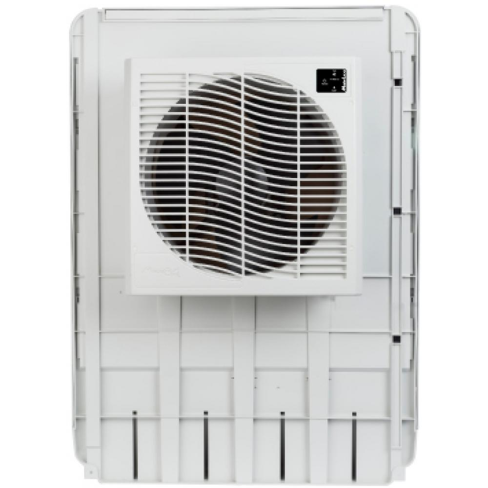 medium resolution of mastercool 3200 cfm slim profile window evaporative cooler for 1600 sq ft