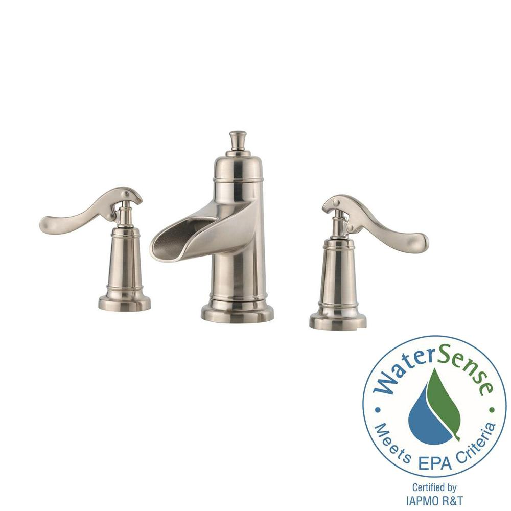 Pfister Brushed Nickel Waterfall Faucet PullDown Brushed