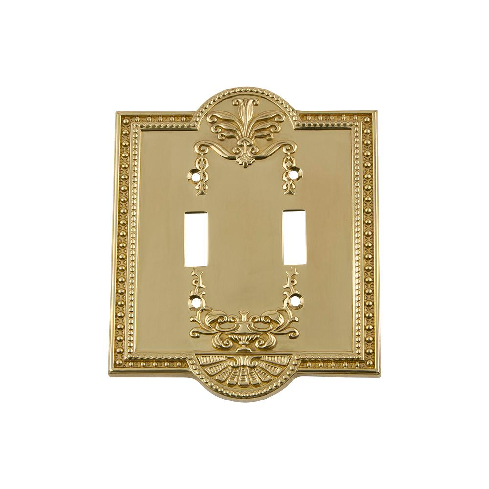 Nostalgic Warehouse Meadows Switch Plate With Double