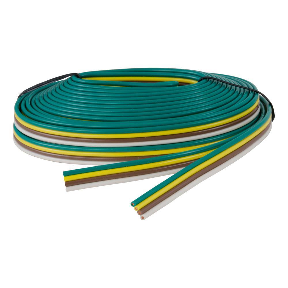 medium resolution of bonded 4 way trailer wiring 16 wire gauge 25 spool