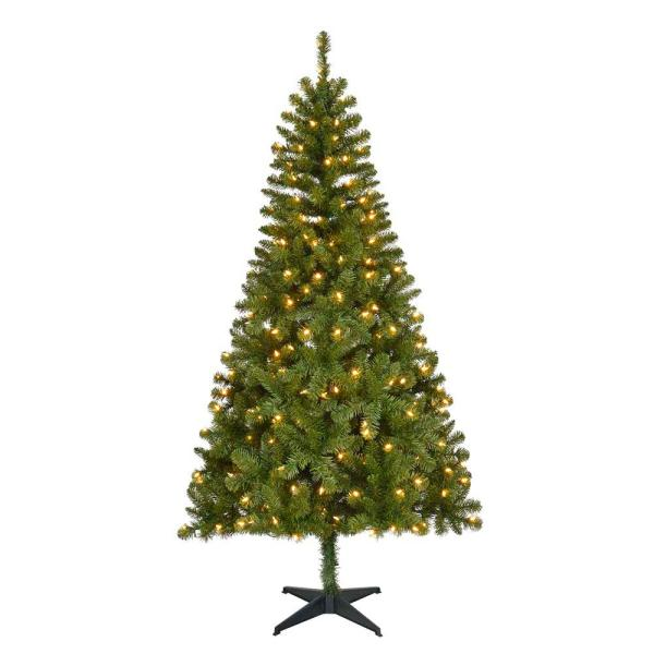 Home Accents Holiday 65 ft PreLit LED Festive Pine