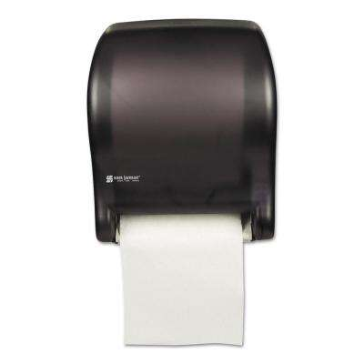 automatic paper towel dispenser for kitchen home depot lighting dispensers holders janitorial supplies the tear n dry black essence