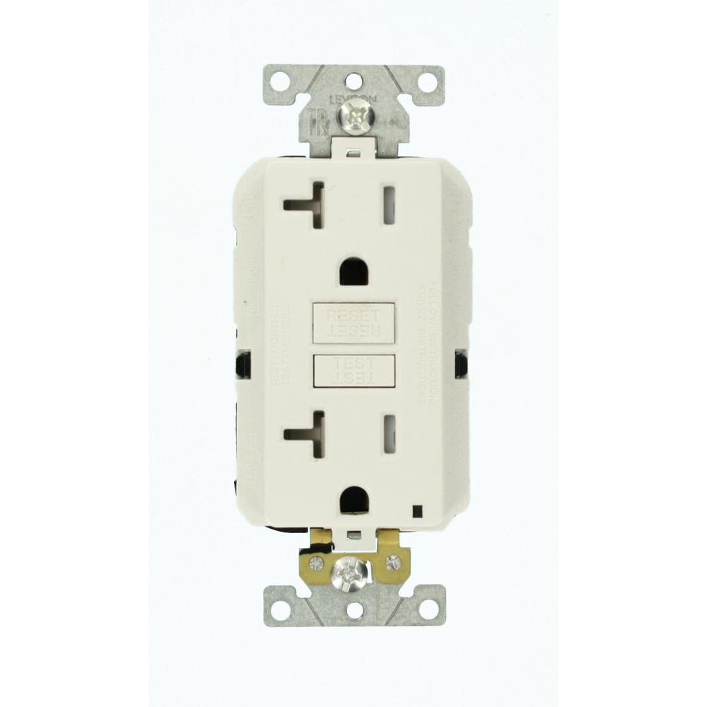 hight resolution of leviton 20 amp lev lok modular wiring device smartlockpro industrial grade gfci outlet white