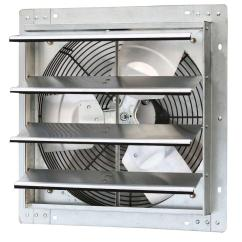 Types Of Kitchen Exhaust Fans Restoration Hardware Table Iliving 1280 Cfm Power 16 In Variable Speed Shutter Fan Ilg8sf16v The Home Depot