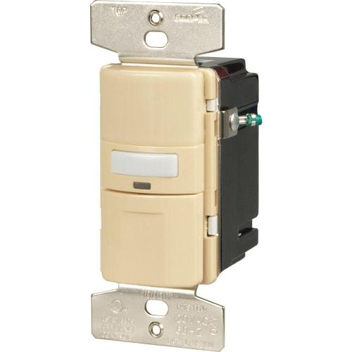 small resolution of eaton motion activated vacancy sensor wall switch ivory