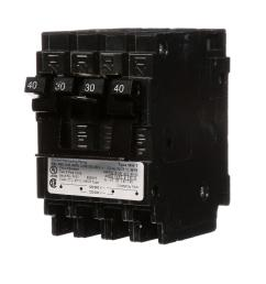 quadplex one outer 40 amp double pole and one inner 30 amp double pole circuit breaker [ 1000 x 1000 Pixel ]