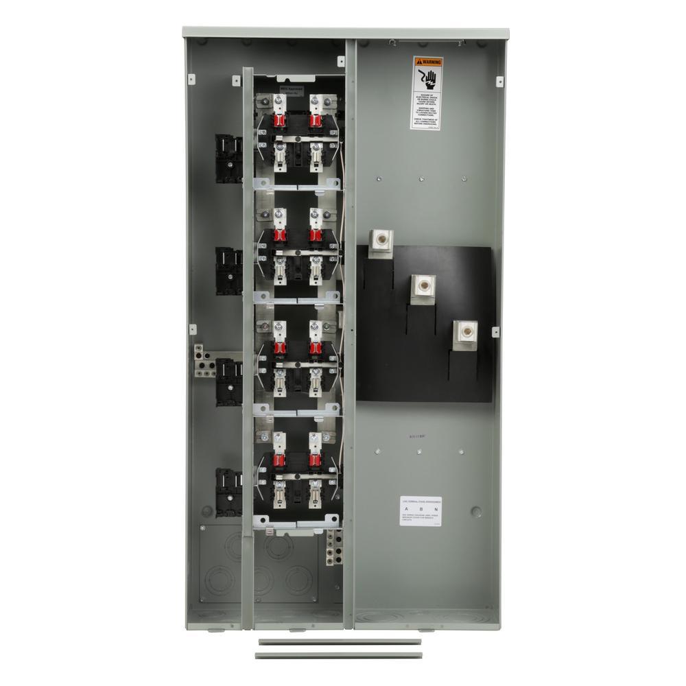 hight resolution of siemens uni pak 4 gang 400 amp ringless style multi family metering