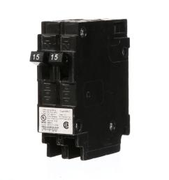 murray 2 15 amp tandem single pole type mh t circuit breaker [ 1000 x 1000 Pixel ]