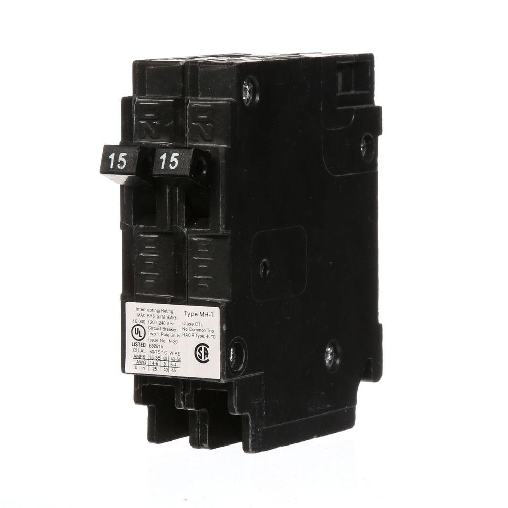 medium resolution of murray 2 15 amp tandem single pole type mh t circuit breaker