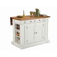 Kitchen Island Home Depot Wallpaper Backsplash Styles Americana White With Drop Leaf 5002 94 The