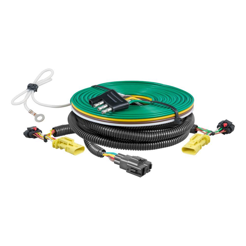 hight resolution of custom towed vehicle rv wiring harness