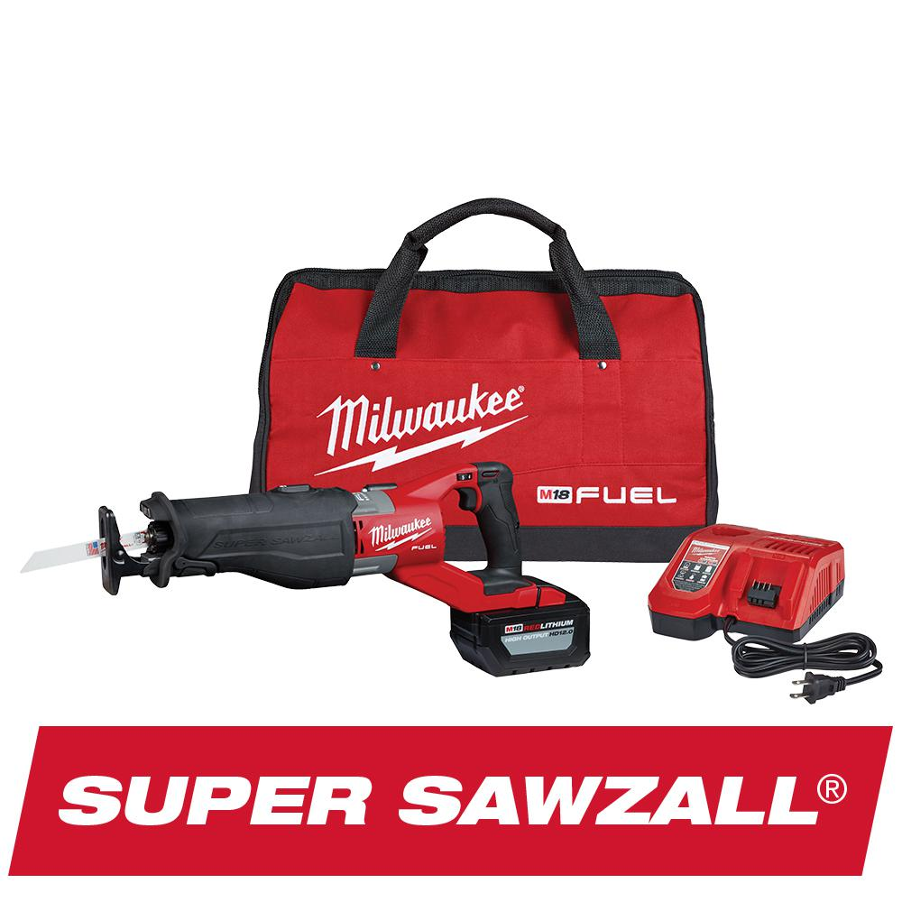 medium resolution of milwaukee m18 fuel 18 volt lithium ion brushless cordless super sawzall orbital reciprocating saw