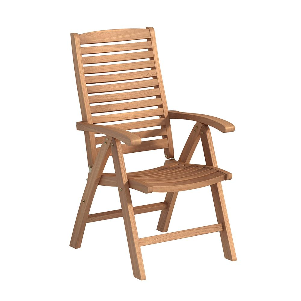 Foldable Dining Chairs Folding Natural Teak Outdoor Dining Chair