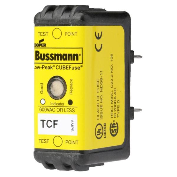 20-amp Time Delay Tcf Cube Fuse-tcf20 - Home Depot