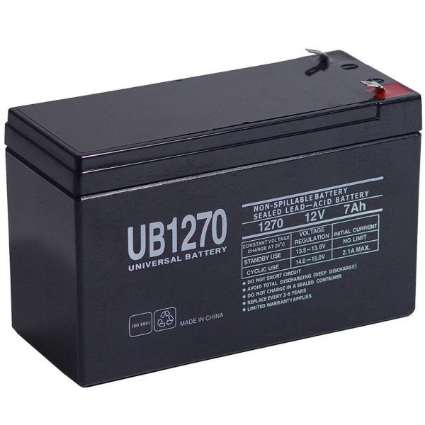 Upg Sealed 12-volt 7 Ah Capacity F1 Terminal Agm Battery-40800 - Home Depot