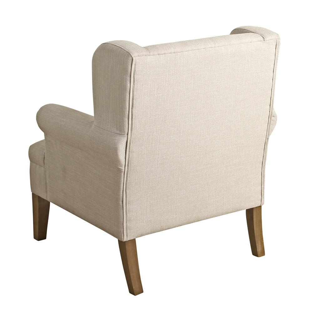 accent wingback chairs swimming pool table and homepop cream emerson chair k6699 f2148 the home depot