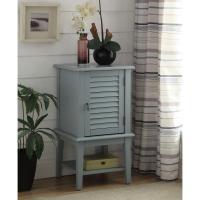 Acme Furniture Hilda Light Blue Storage Cabinet-97360 ...