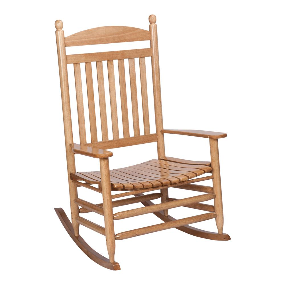 Cheap Rocking Chairs Bradley Maple Jumbo Slat Wood Outdoor Patio Rocking Chair