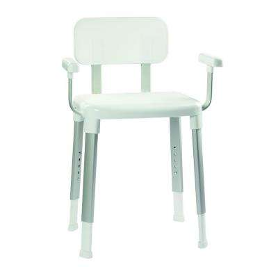 grey bathroom safety shower tub bench chair 2 person chairs & stools - accessories the home depot