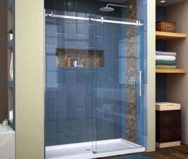 Enigma Air  In To  In X  In Frameless Sliding Shower