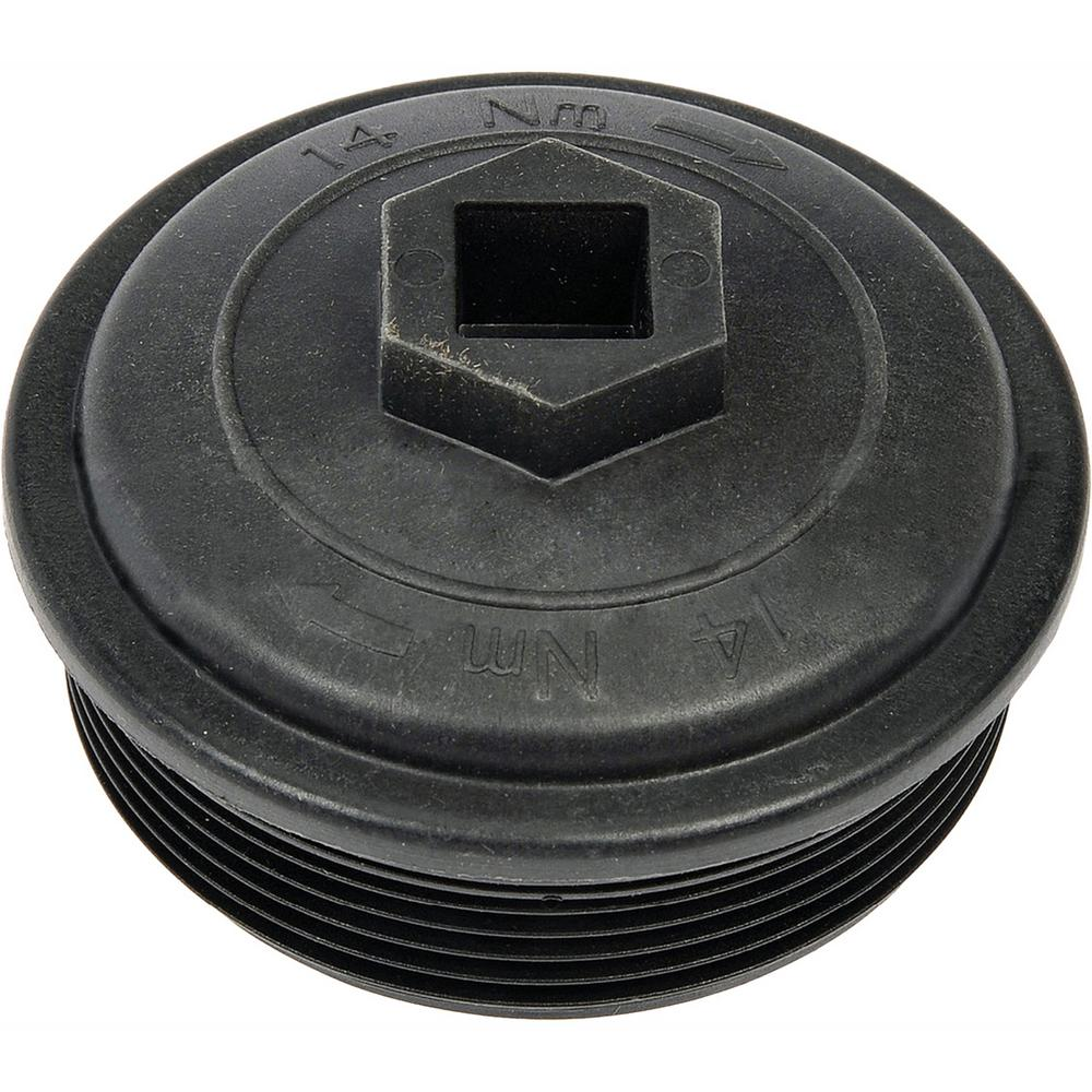 hight resolution of fuel filter cap and gasket
