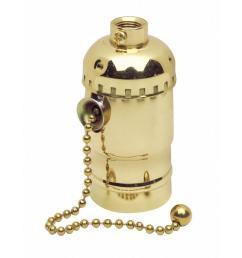 leviton pull chain socket lamp holder 3 [ 1000 x 1000 Pixel ]