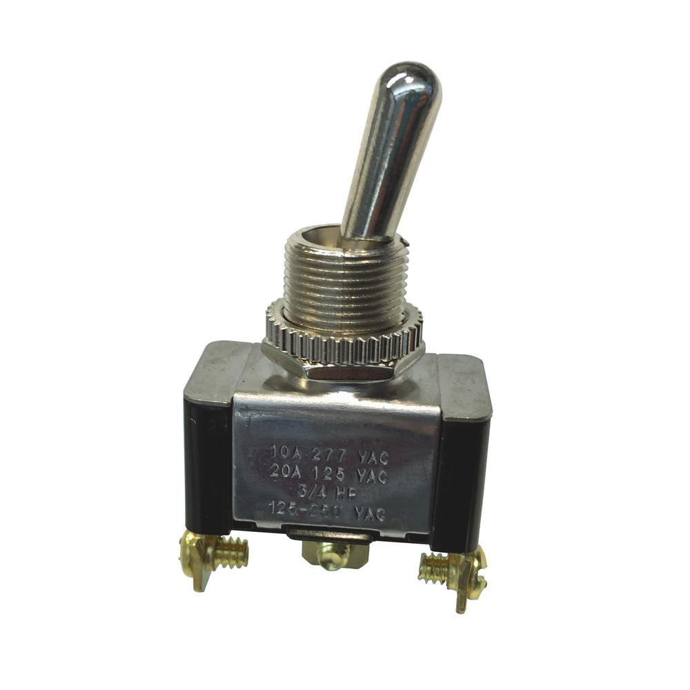 medium resolution of gardner bender single pole toggle switch spdt case of 5