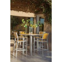 Ivy Terrace Basics Textured Silver -weather Aluminum